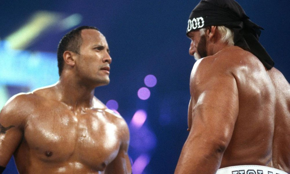 The Rock And Hulk Hogan Reflect On Their Match At WrestleMania 18