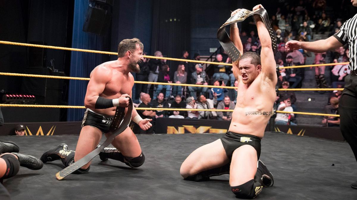 Bobby Fish Suffers Knee Injury at NXT Live Event