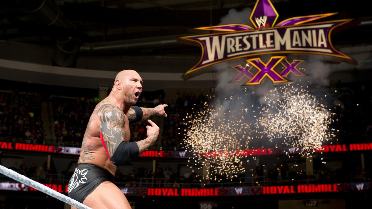 Details On Talks For Batista to Appear at WrestleMania 34 Falling Through