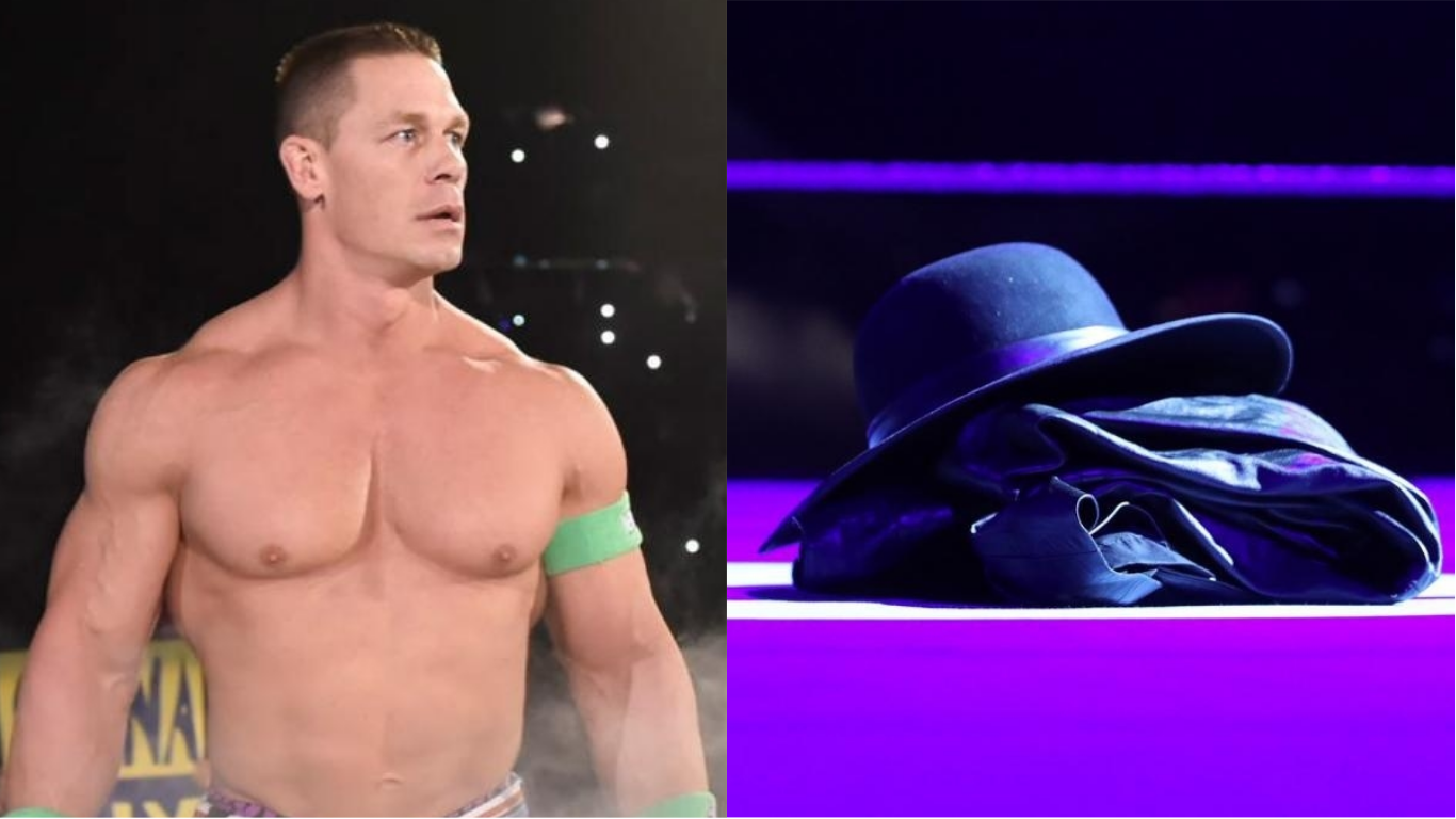 john cena shares cryptic video after getting destroyed by. Black Bedroom Furniture Sets. Home Design Ideas