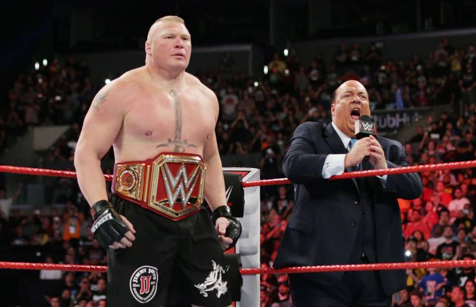 Brock Lesnar Re-Signs With WWE But Could Still Fight In UFC
