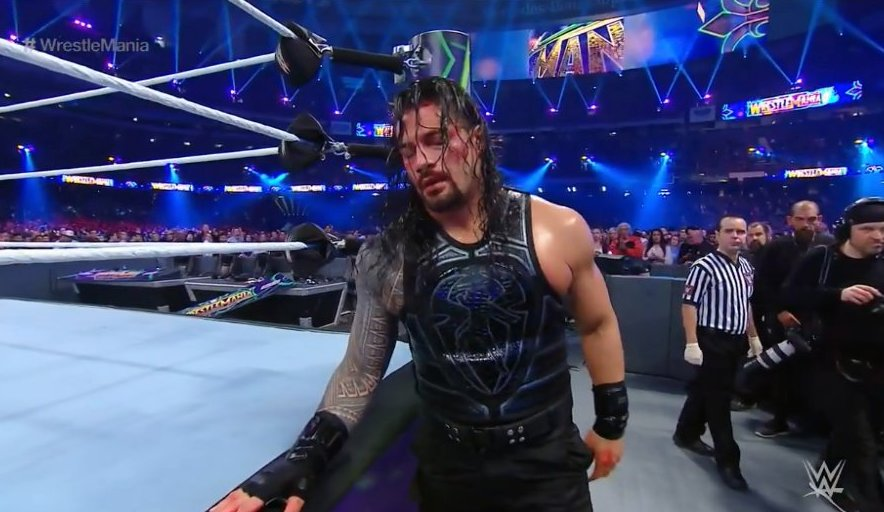 Image result for roman reigns wrestlemania 34""