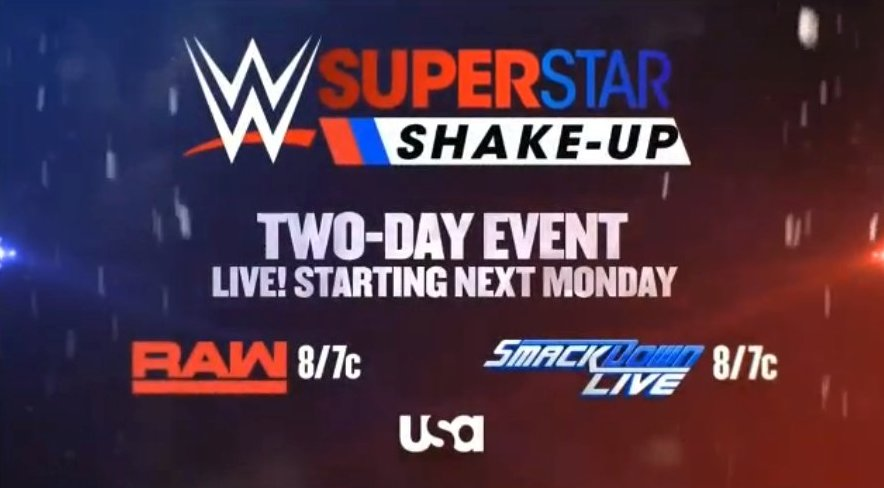 WWE Superstar Shake-Up Set For Next Week