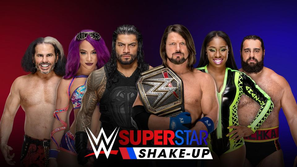 Alletto: It's WWE Superstar Shake-Up Time! Here Are My Roster Moves