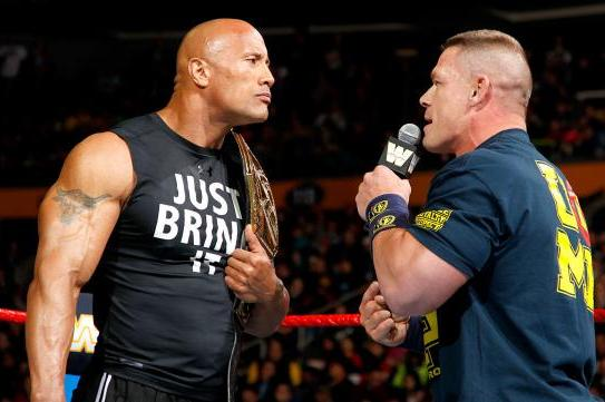 'You wanna clean my butt?' - John Cena's vulgar offer to Dwayne Johnson