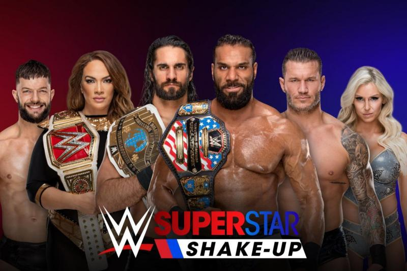 Superstar Shakeup Night 1, Tag Team Match, Roman Reigns - Samoa Joe, More