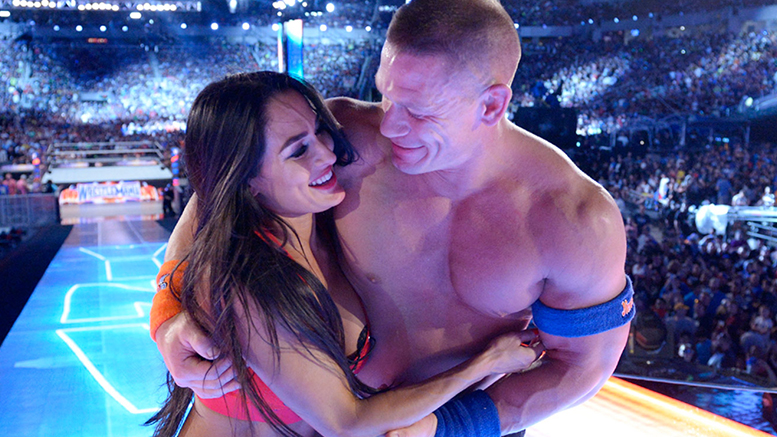 nikki and john cena relationship status