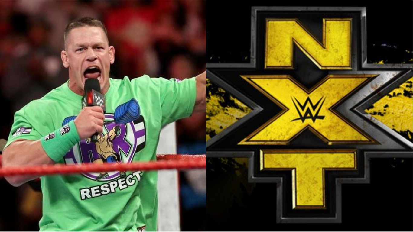 john cena on if he would be willing to wrestle in nxt. Black Bedroom Furniture Sets. Home Design Ideas