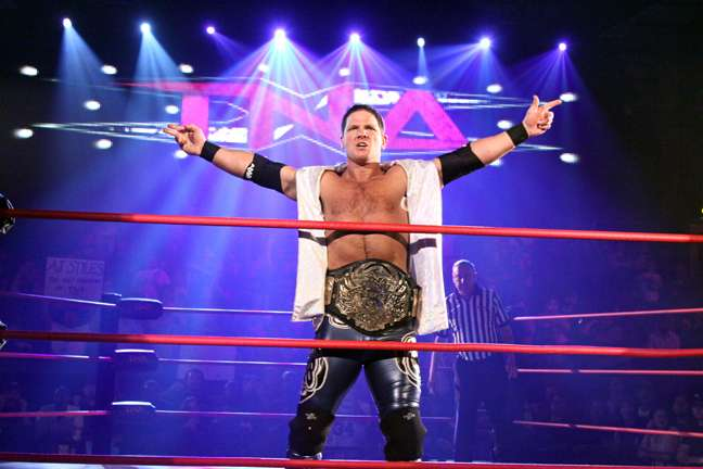 Image result for aj styles tna champion