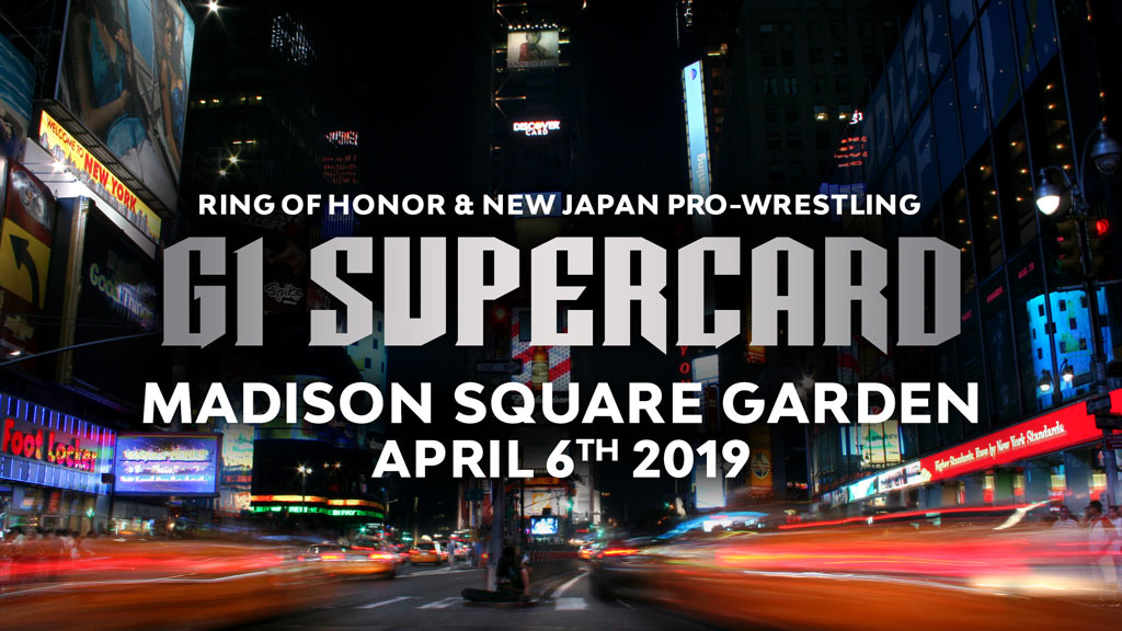 ROH and NJPW Announce Madison Square Garden Event