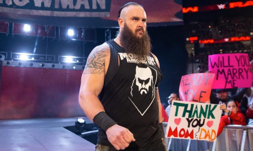 WWE Announces Injuries To Braun Strowman Following Brutal Attack On Raw
