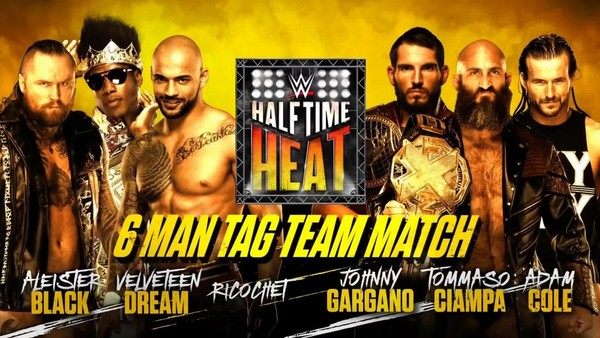 WWE Announces Return of Halftime Heat