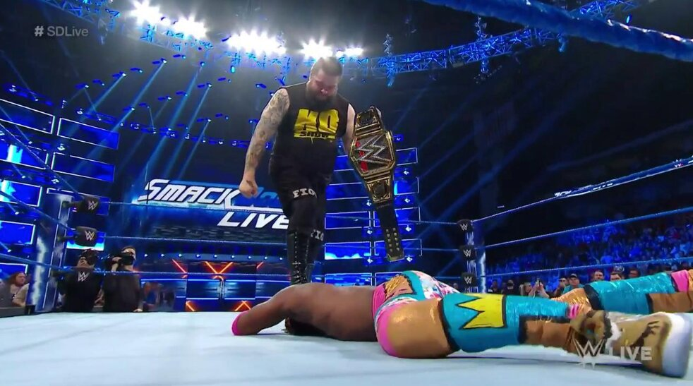 Kevin Owens Turns Heel On WWE SmackDown Live