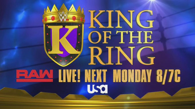WWE Reveals King of the Ring Matches for This Week's Raw & Smackdown