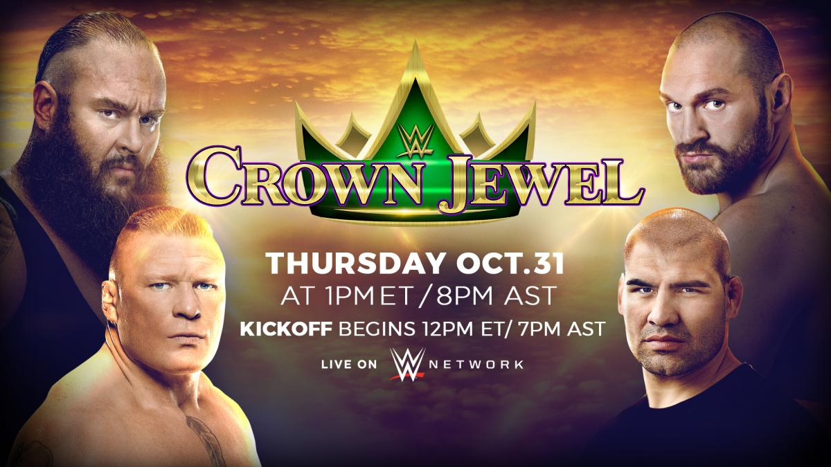 Universal Title Match Added To WWE Crown Jewel