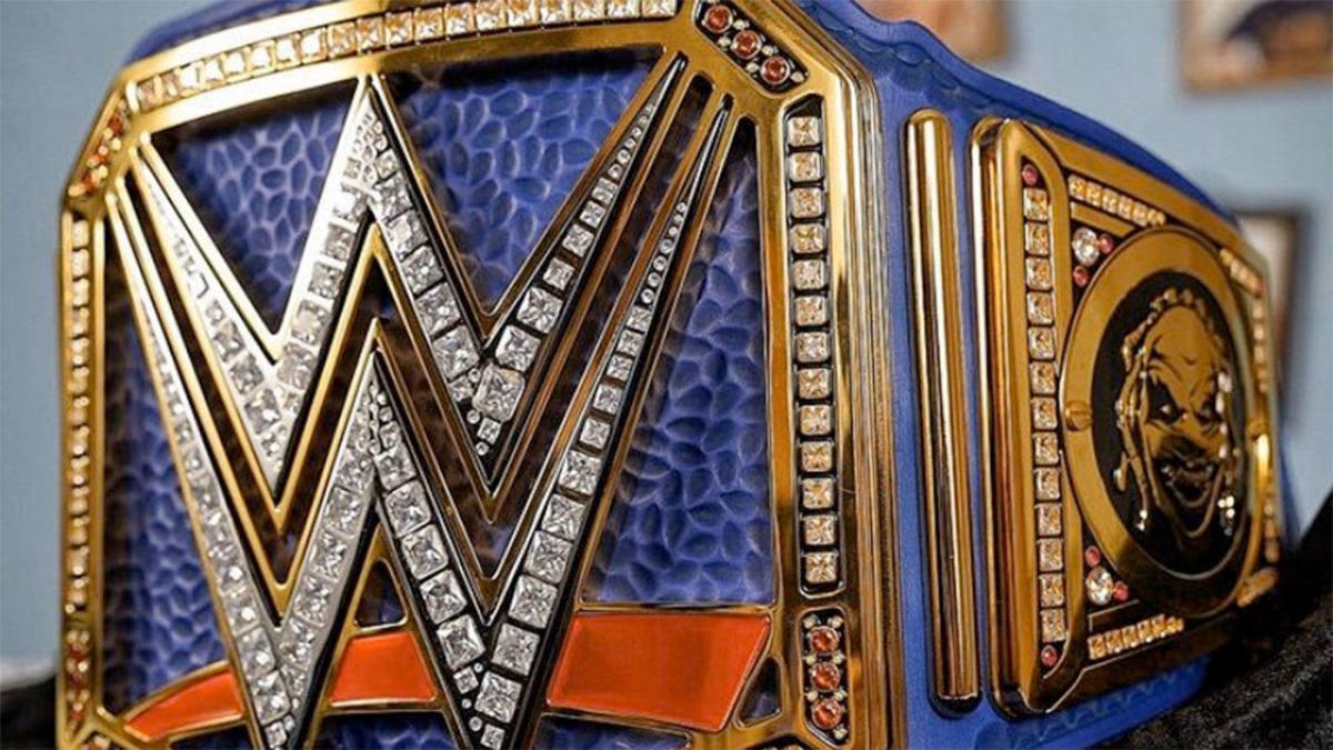 WWE Reportedly Redesigning Another Title Belt - Still Real To Us
