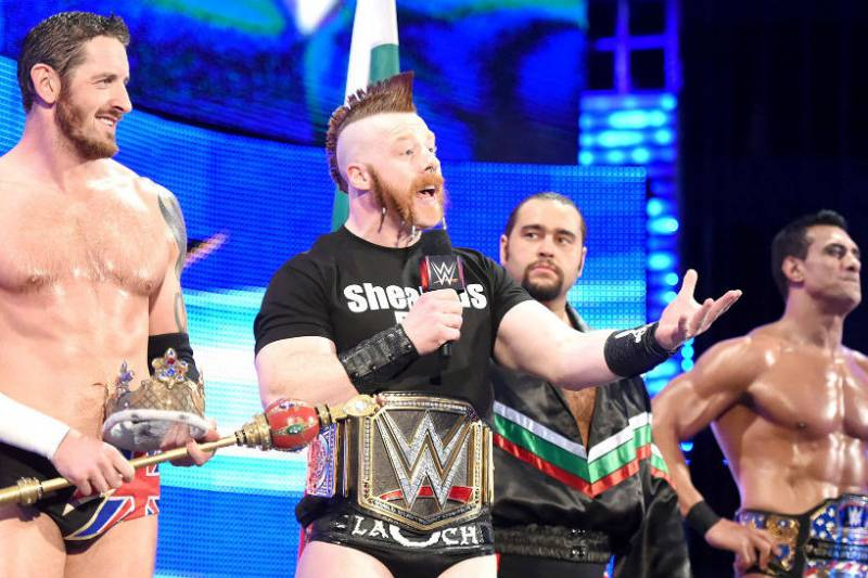 Sheamus On Why Vince Mcmahon Created The League Of Nations
