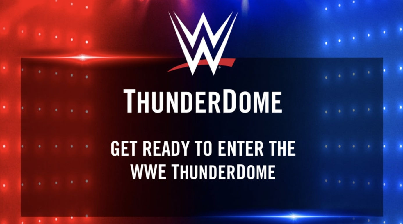 WWE announces ThunderDome residency, fans to appear virtually