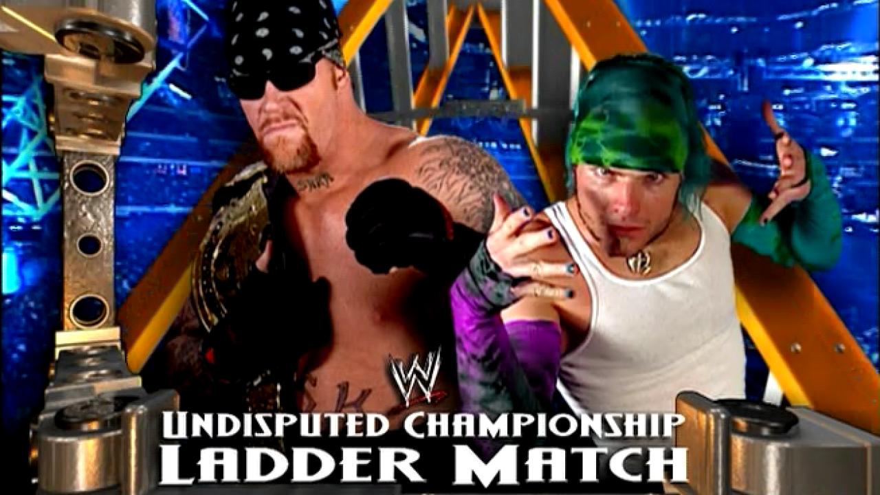 Match Of The Day: Jeff Hardy VS The Undertaker Ladder Match Raw 7 ...