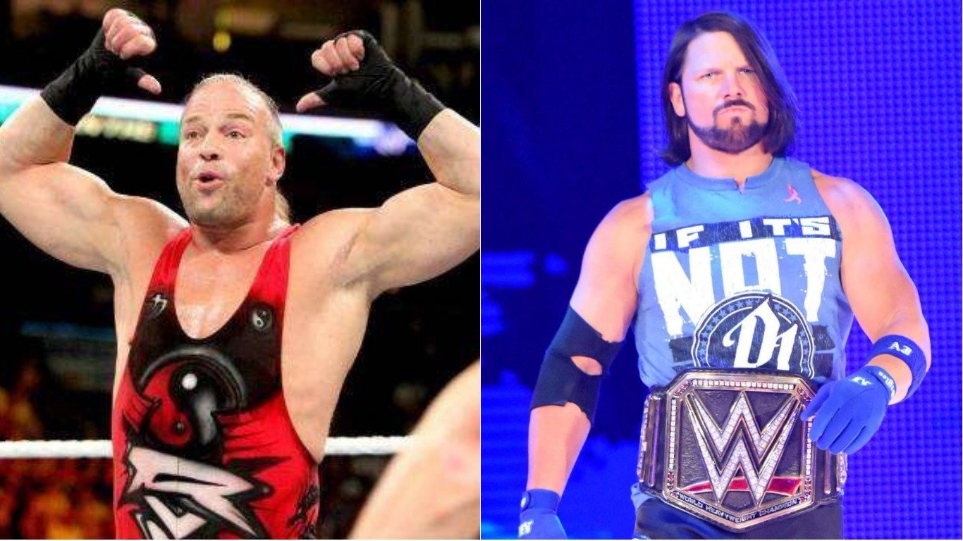 Rob van dam on a possible wwe match with aj styles jinder - Wwe rvd images ...