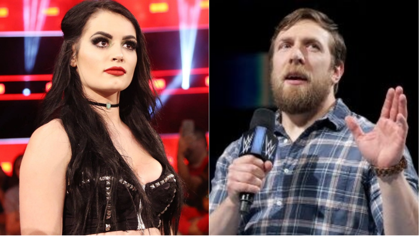 Image result for Daniel Bryan and Paige