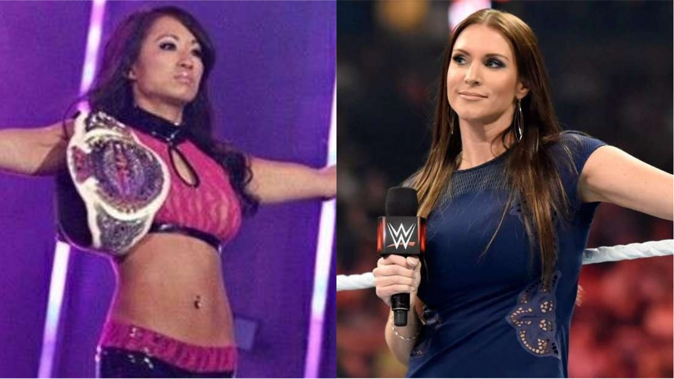 Gail Kim Hot Images gail kim says stephanie mcmahon could have fought for women