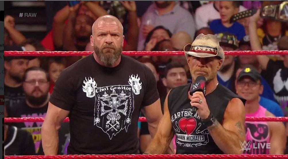 Dx returns to challenge the brothers of destruction over the weekend triple h faced the undertaker for the last time ever in a singles match at wwe super show down and triple h had shawn michaels in his m4hsunfo