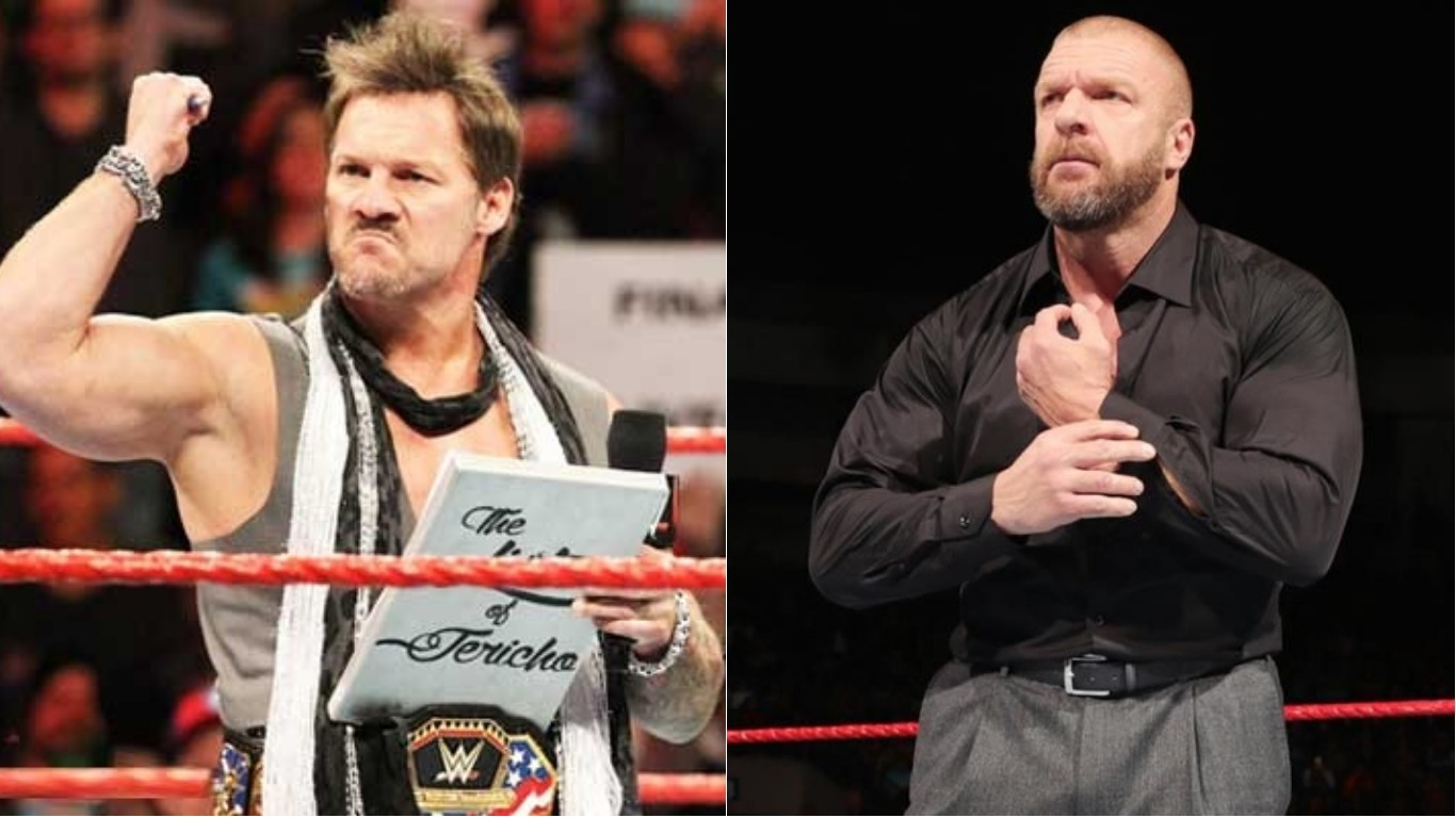 AEW Star Chris Jericho On His Relationship With Triple H