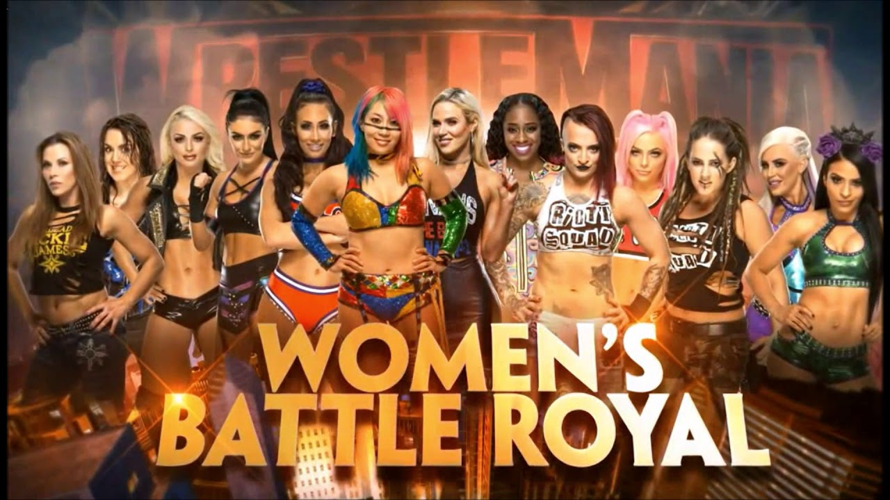 Bildergebnis für wwe wrestlemania women's battle royal