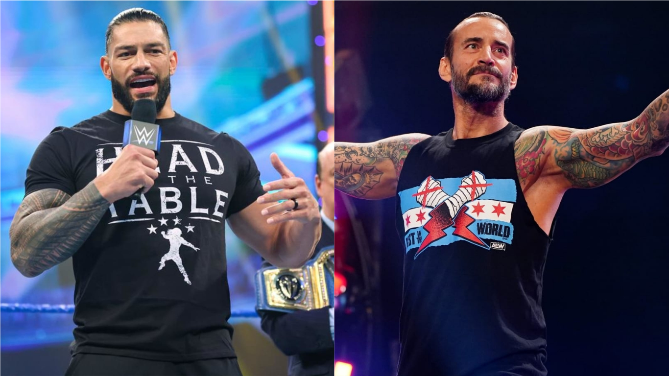 Roman Reigns Says CM Punk Has Lost A Step Or Two In The Ring